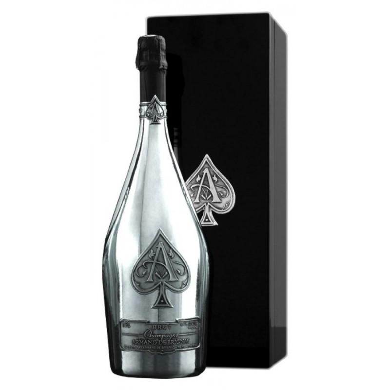 Armand de Brignac Ace of Spades Silver Blanc de Blancs NV (750ml)