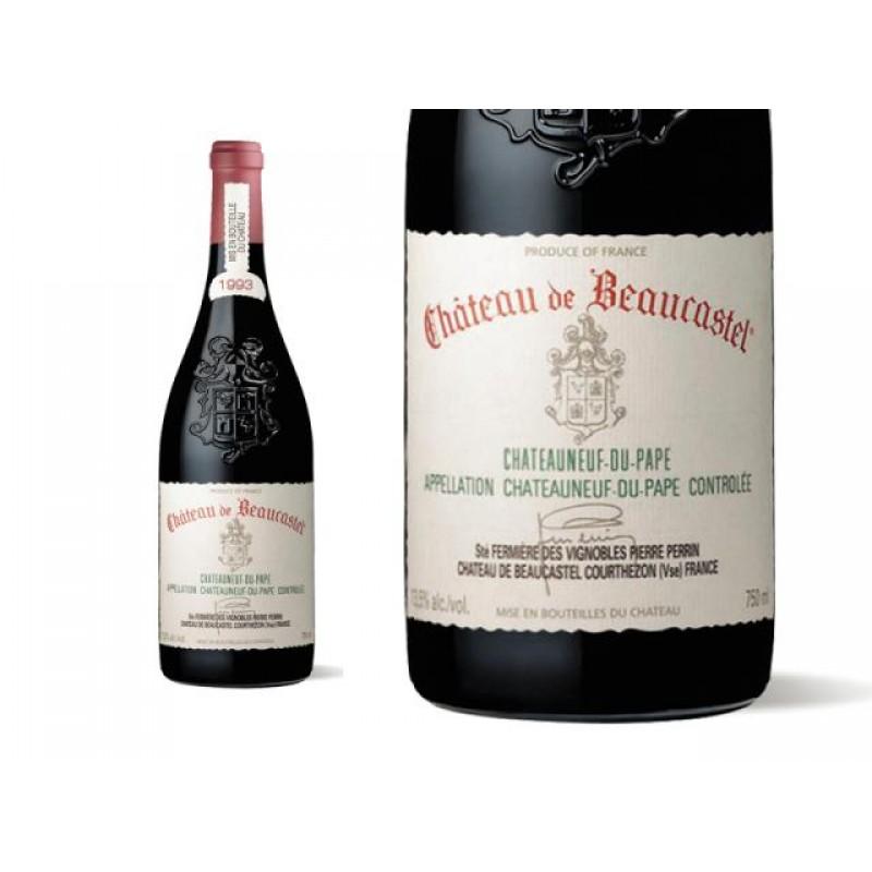 Beaucastel Chateauneuf du Pape 1993 (750ml)